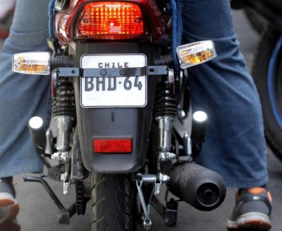 Buscar patente de moto
