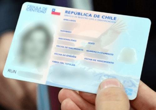Documento carnet identidad